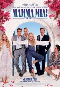 """Poster Film """"Mamma Mia!"""""""