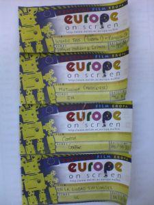 Tiket Europe on Screen 2008