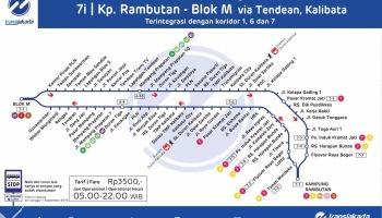 Rute Bis Dan Angkutan Kota Dki Jakarta Khiko Rayesmara