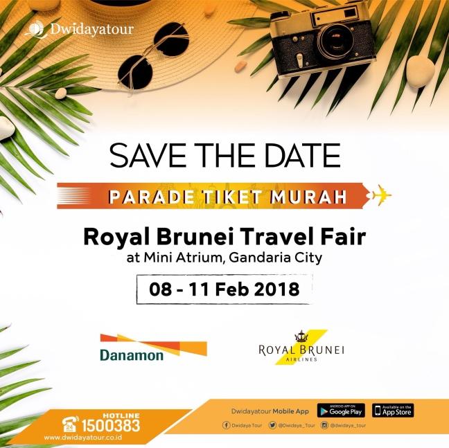 Latest News Jadwal Travel Fair 2018 Siapkan Uang Mu